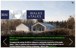 RIAI Spring Walks and Talks