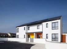 Architectural Photography for galway city council green environmental sustainable housing