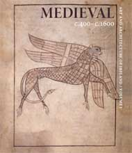 front cover of medieval volume of art and architecture of ireland