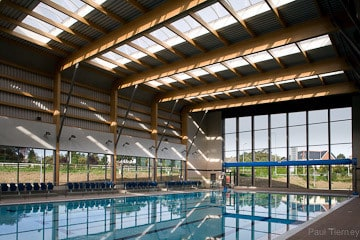 Sunny Image of Sports Centre Greystones Ireland