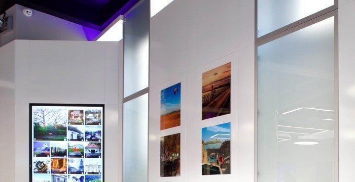 Bright Commercial interior photography by paul tierney architectural photographer