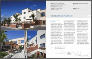 image of architecture ireland magazine showing the Glen Regeration Architectural Photography Cork Ireland