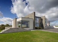 sunny photography of architecture passive house dublin