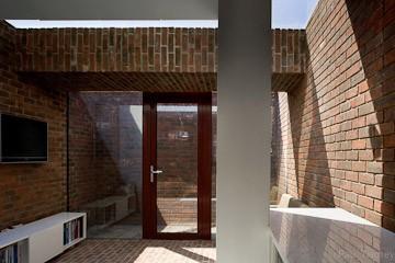 Architecture Republic brick house