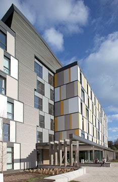 Kavanagh Tuite Best Sustainable Building RIAI Awards Roebuck Students Housing
