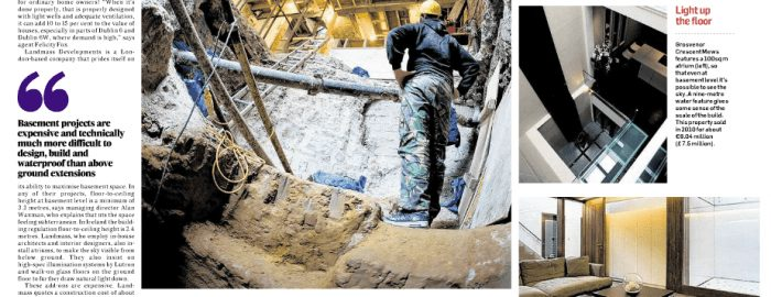 Architectural Photography for Irish Times