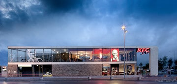 Paul Dillon Architects Award winning development galway KFC