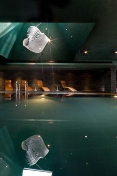 Interior photograph of Marker Hotel Swimming Pool Dublin